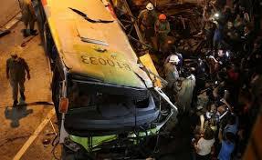Peruda avtobus uçuruma yuvarlanıb: 21 ölü var