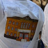 """Azerbaycanlı öğrenciler için """"son zil"""" seslendi (Fotoğraf)"""