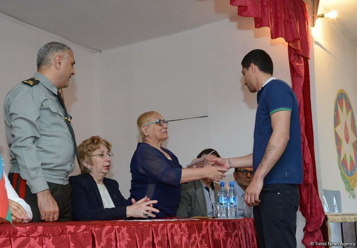 В исправительных учреждениях Азербайджана исполнен Акт об амнистии (ФОТО)