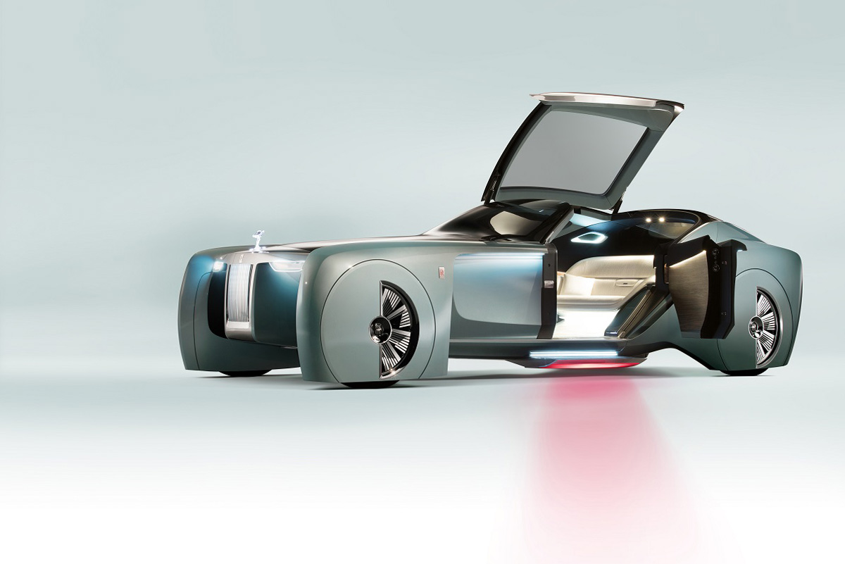 """""""Rolls-Royce""""dan dəbli gələcəyin avtomobili (FOTO)"""