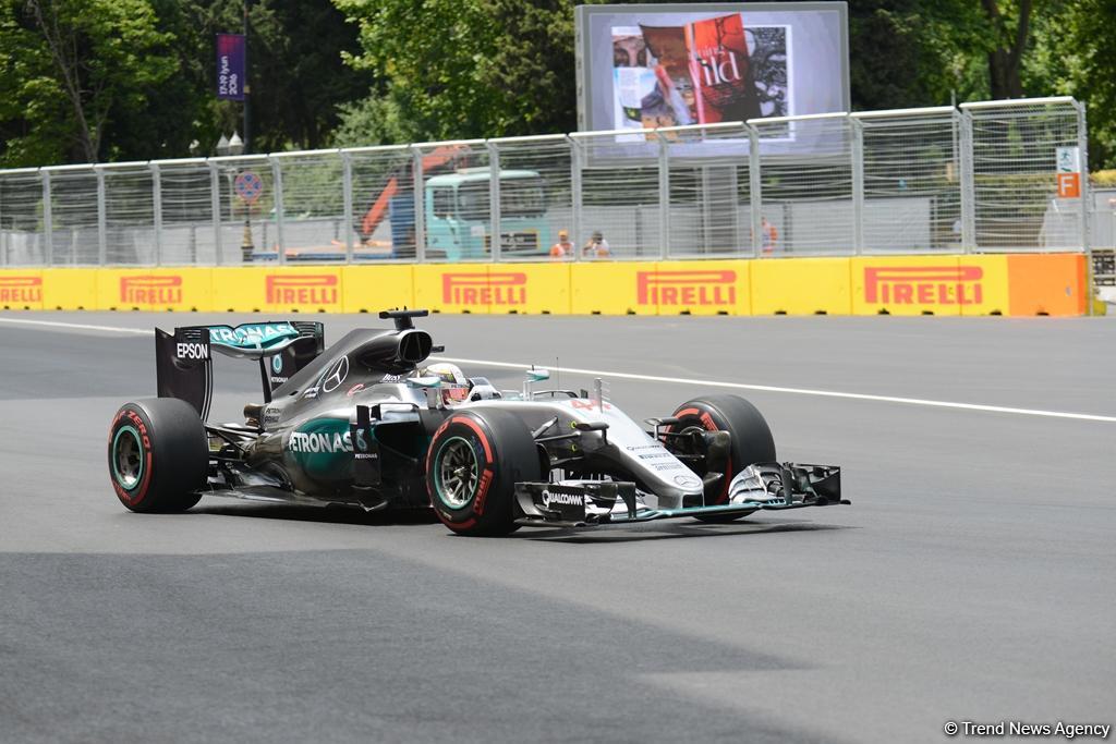 Bakü Formula 1 Avrupa yarışmalarının 2.günü başlıyor
