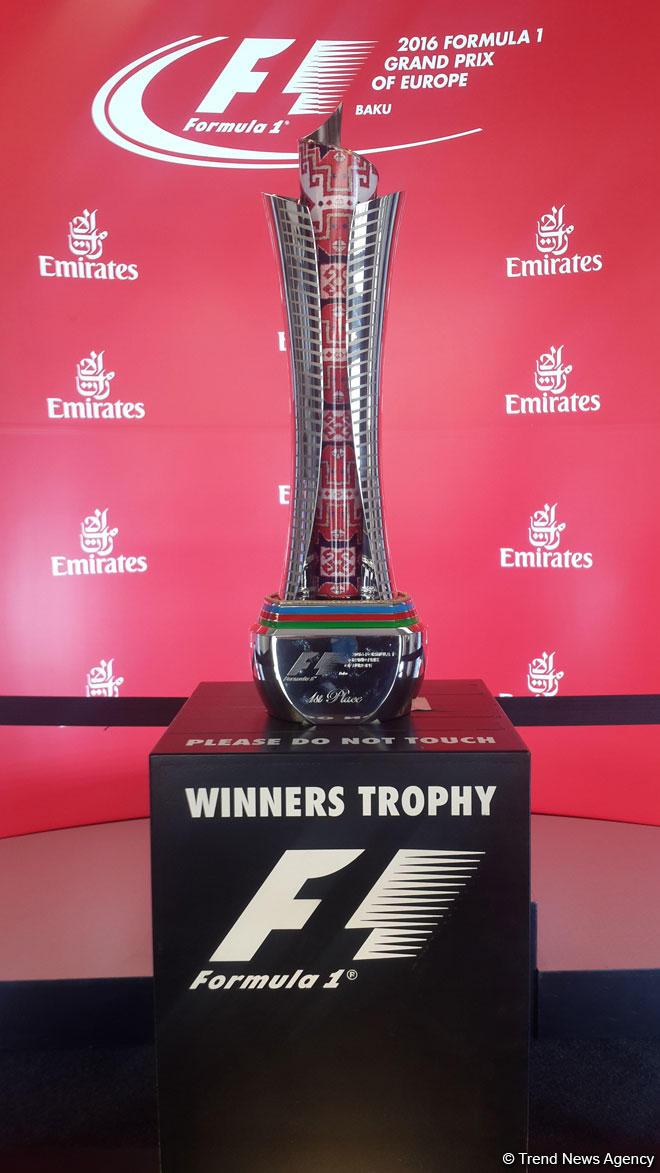 Avrupa Grand Prix kupası hazır (Fotoğraf)