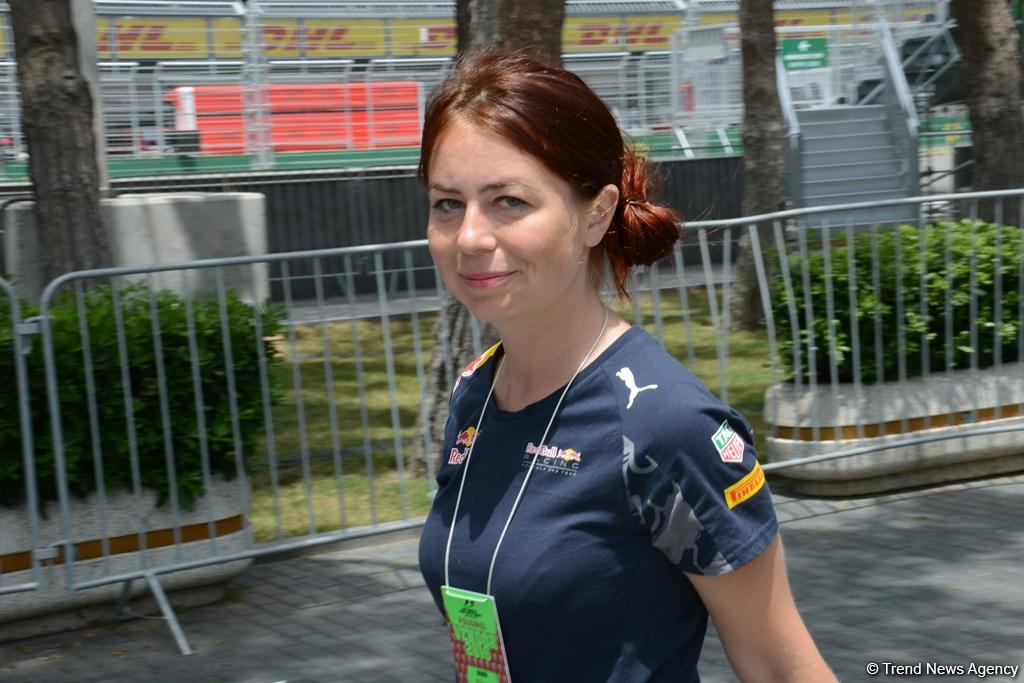 Bakını və Formula 1-i sevənlər... (FOTO)