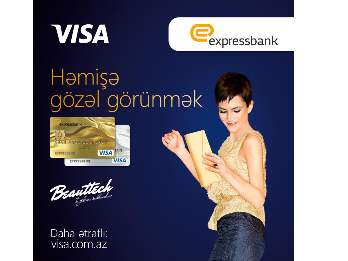 """Expressbank-dan """"Visa Premium"""" kart sahiblərinə növbəti şad xəbər (FOTO)"""