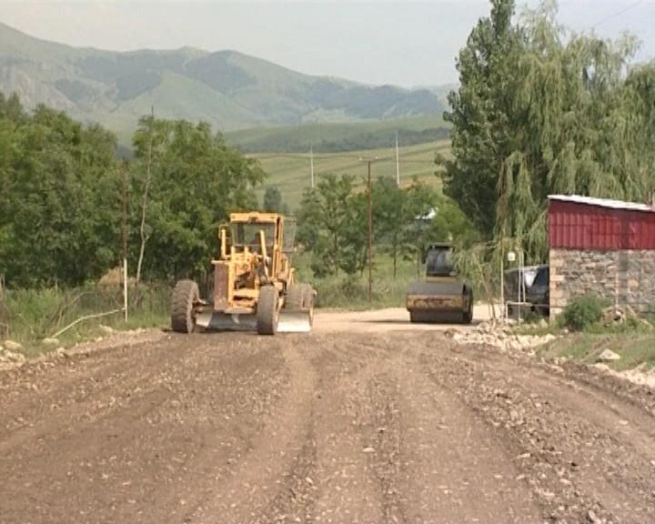 Novosaratovka-Çobankənd-Novoivanovka avtomobil yolunun tikintisinə başlanılıb (FOTO/VIDEO)