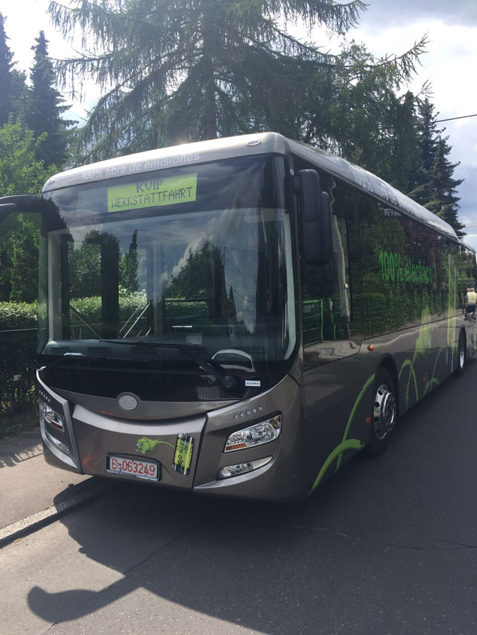Azerbaycan elektirkli otobüs ürtetecek (Özel)