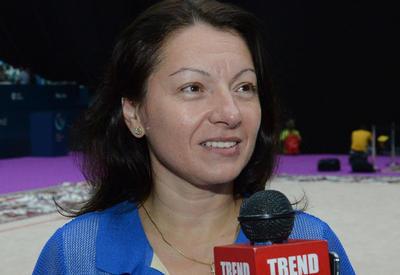 Mariana Vasileva: Gimnastlardan keyfiyyətli çıxış gözləyirəm