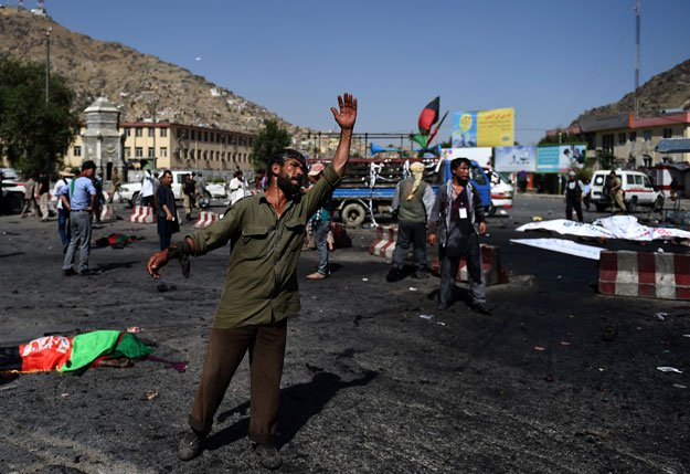 12 killed, 14 injured in blast at funeral in Afghanistan's Jalalabad