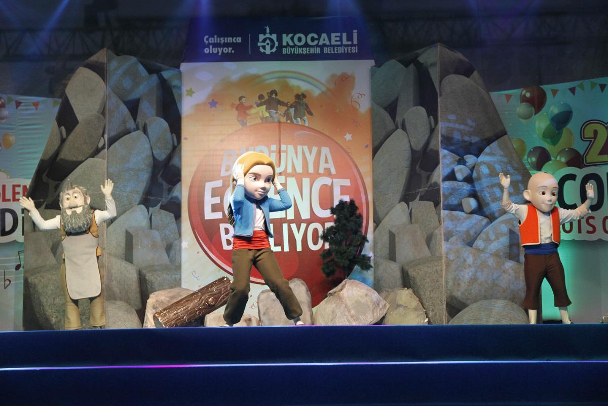 Keloğlan ve arkadaşları Azerbaycan'da sahne alacak (Fotoğraf) (Görüntü)