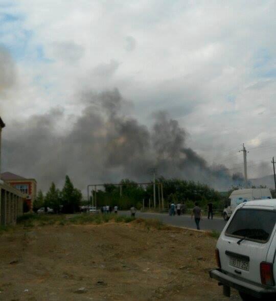 Azerbaycan'da silah üretim tesisinde patlama: 11 yaralı (Görüntü)