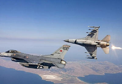 Turkish air forces bomb PKK positions in Northern Iraq
