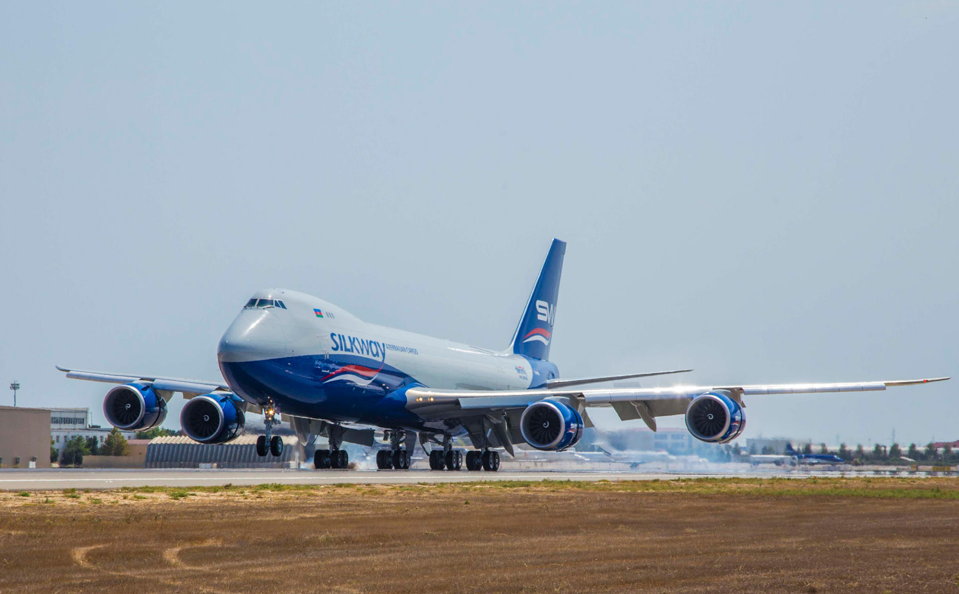 Silk Way Airlines Expands Fleet With Another Boeing 747 8f