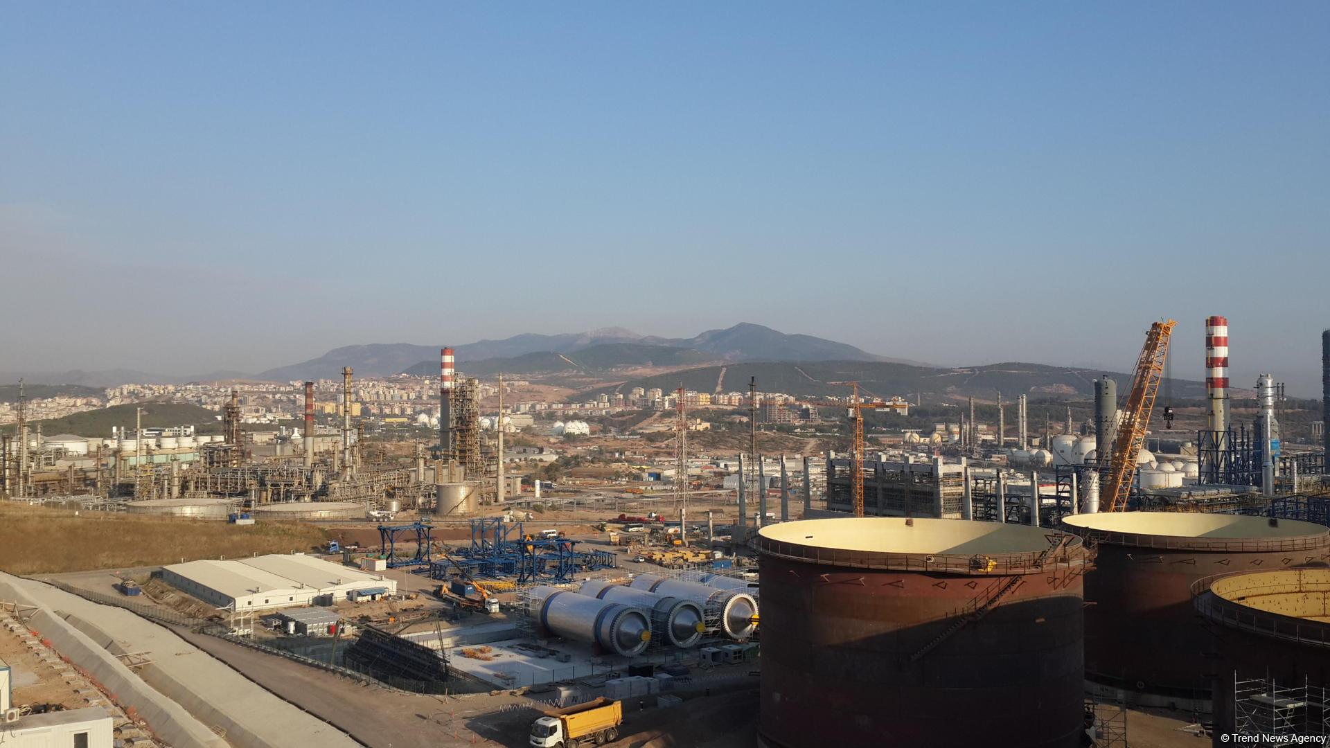 Star Rafineri'nin yapımı yüzde 75 tamamlandı