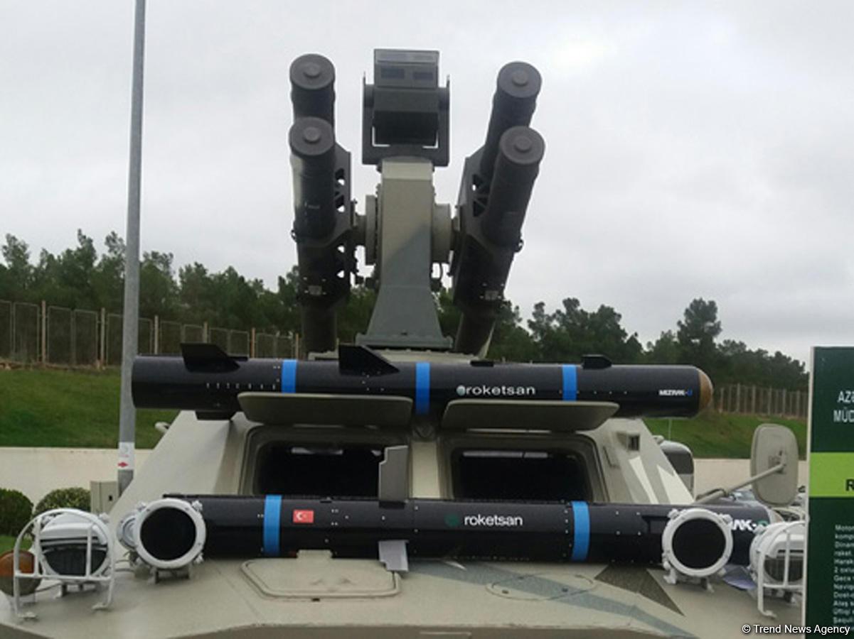 Azerbaycan Türkiye'den tanksavar füzeleri alacak