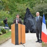 Fransanın Konyak şəhərində Məhsəti Gəncəvinin heykəli ucaldılıb  (FOTO)