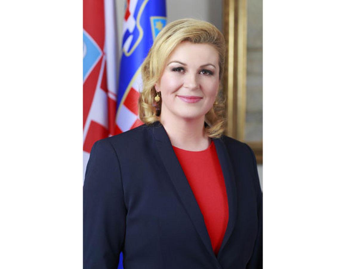 Xorvatiya Prezidenti Prezident İlham Əliyevi təbrik edib