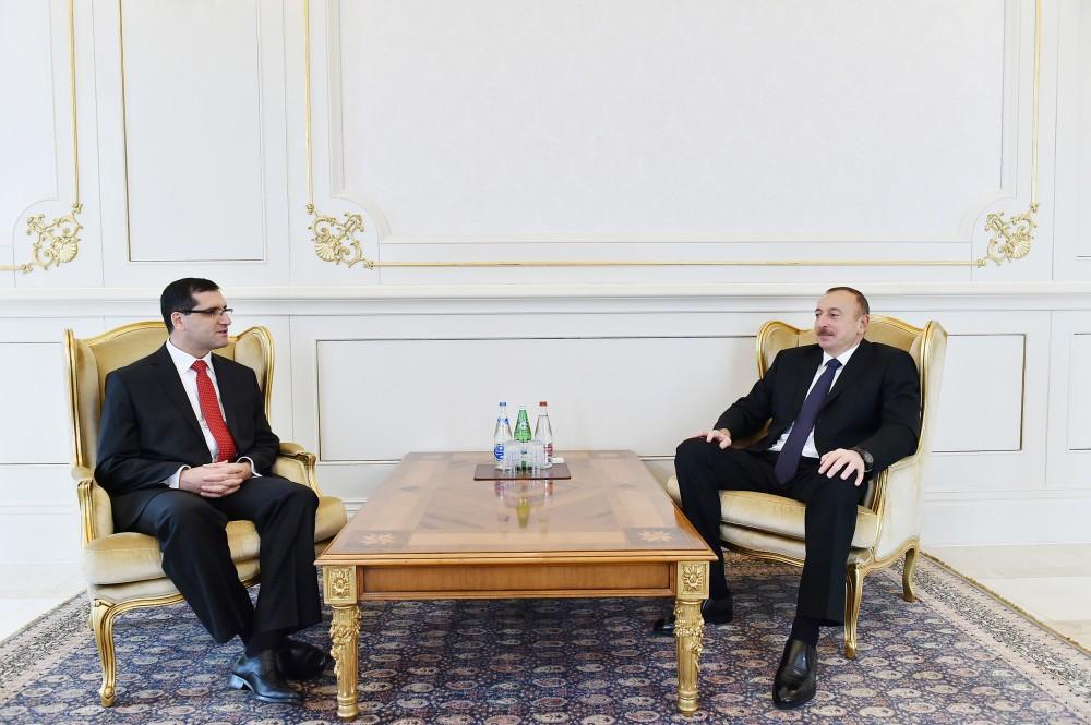 Cumhurbaşkanı Aliyev Türkiye Büyükelçisi'nin güven mektubunu kabul etti