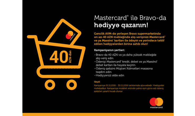 Mastercard, Bravo supermarket start new campaign