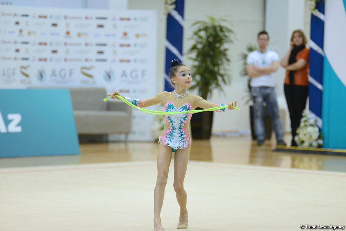 В Мингячевире проходят XXIII Первенство Азербайджана и III Кубок регионов по художественной гимнастике (ФОТО)