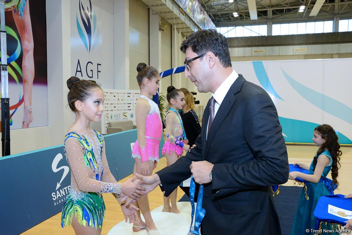 Награждены победители XXIII первенства Азербайджана и III Кубка регионов по художественной гимнастике (ФОТО)