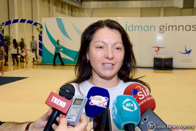 Гимнастика развивается и в регионах Азербайджана - Мариана Василева (ФОТО)