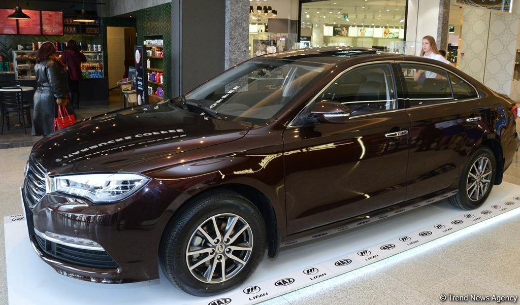 New Naz Lifan 820 Model Presented In Baku Photo