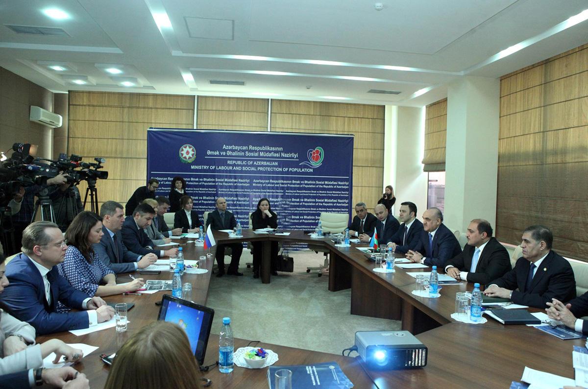 Россия изучает опыт Азербайджана по автоматизации социальных услуг (ФОТО)