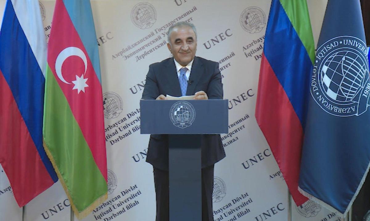 Состоялось официальное открытие Дербентского филиала UNEC (ФОТО)