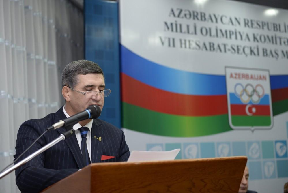İlham Əliyev yenidən Milli Olimpiya Komitəsinin prezidenti seçilib (YENİLƏNİB) (FOTO)