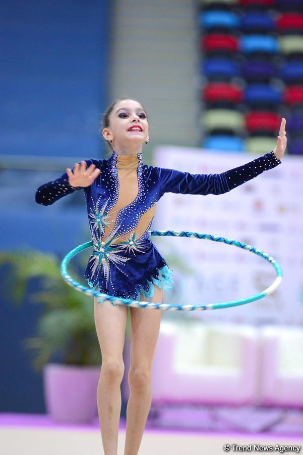 Bədii gimnastika üzrə 23-cü Azərbaycan çempionatı və Bakı birinciliyinə start verildi (FOTO)