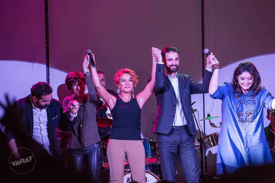 YARAT Samirə Əfəndiyeva ilə canlı musiqi axşamı keçirib    (FOTO)