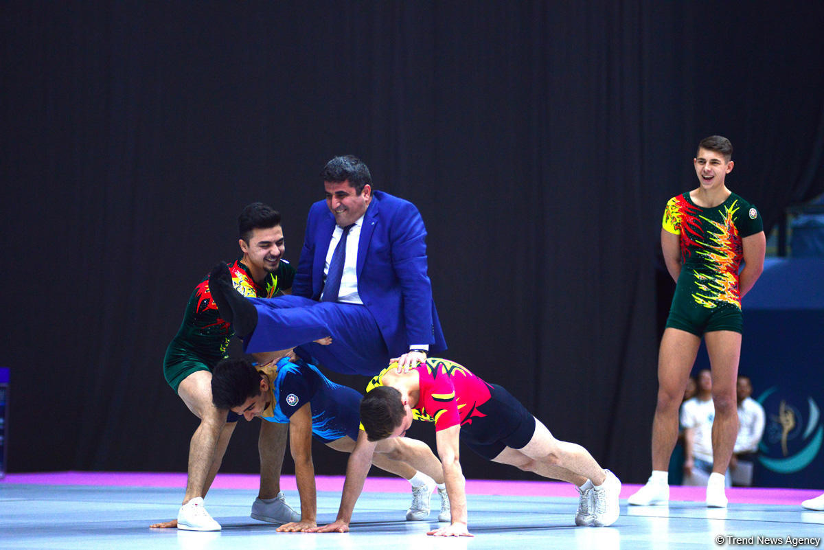 Bədii gimnastika üzrə 23-cü Bakı çempionatı və birinciliyi davam edir (FOTO)