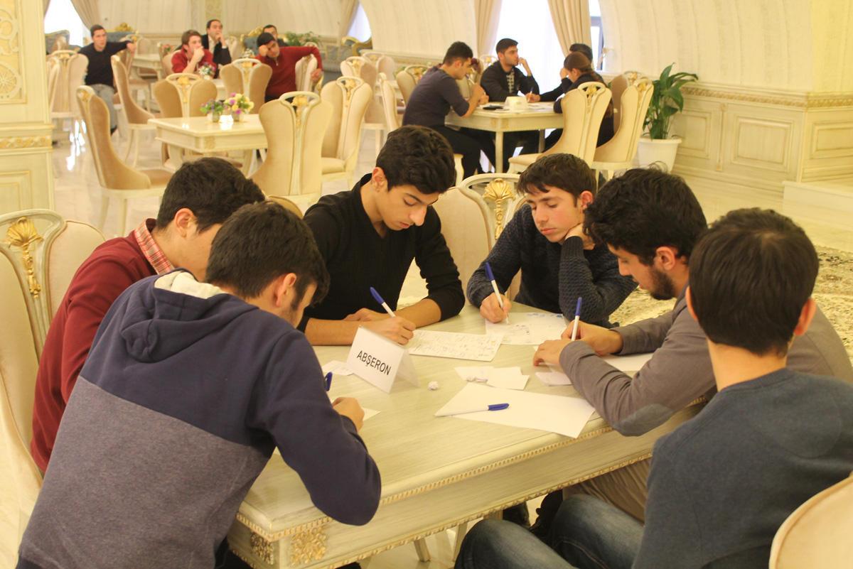 """""""Azərbaycanın İntellektual BİRincisi"""" layihəsi davam edir   (FOTO)"""