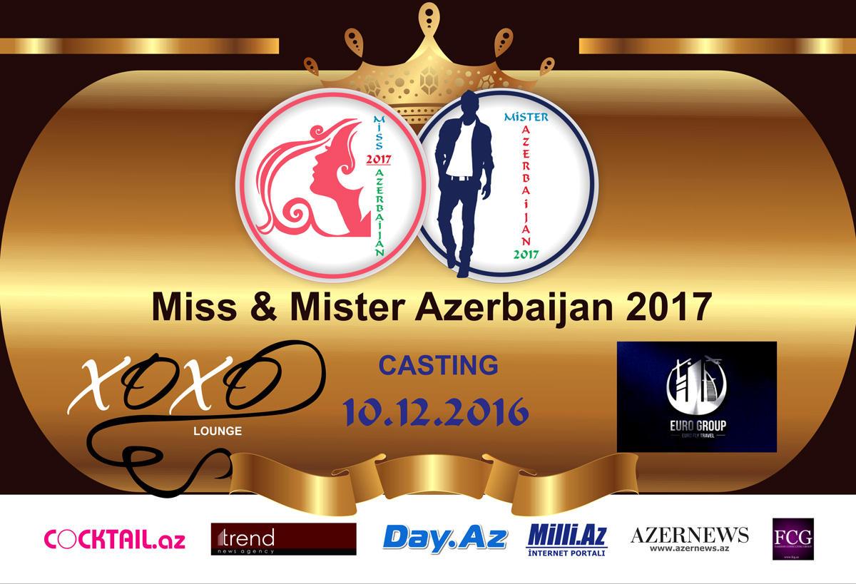 В Баку прошел первый кастинг Miss & Mister Azerbaijan - 2017 (ФОТО)