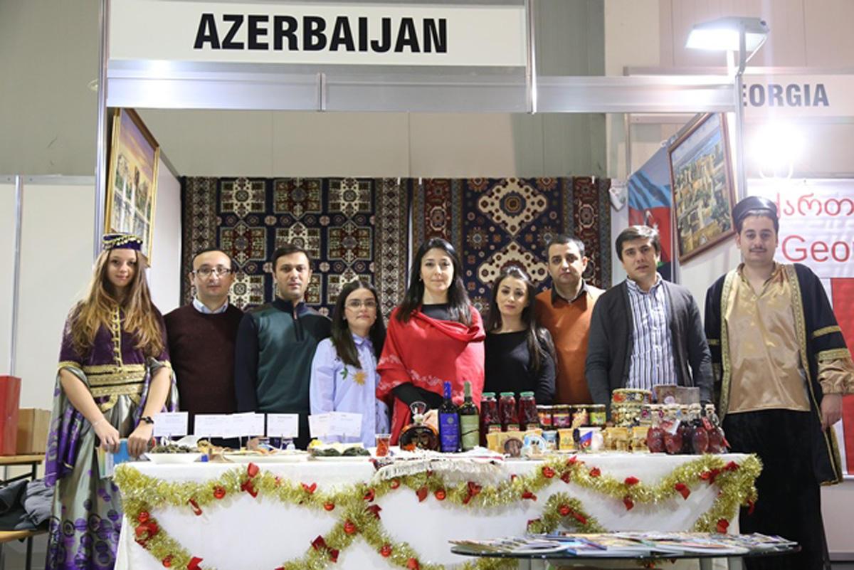 Azərbaycan Bolqarıstan paytaxtında xeyriyyə bazarına qatılıb (FOTO)
