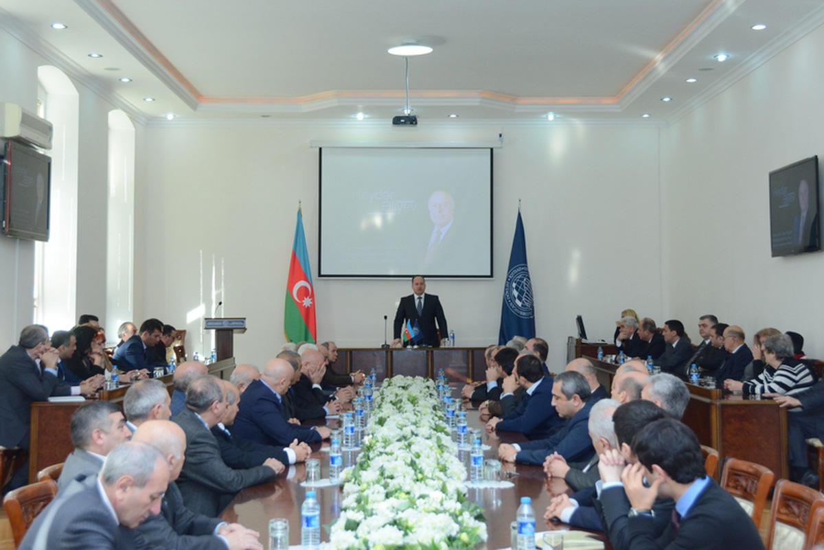 Ulu öndər UNEC-də anılıb (FOTO)