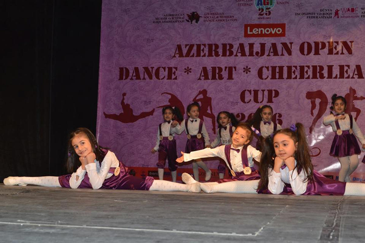 Rəqs üzrə Azərbaycan Kuboku keçirilib  (FOTO)