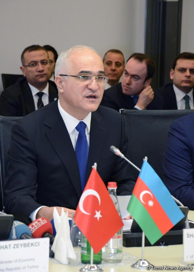 Şahin Mustafayev: Azərbaycanın türkdilli ölkələrlə ticarət dövriyyəsi 2 milyard dollara yaxındır (FOTO)