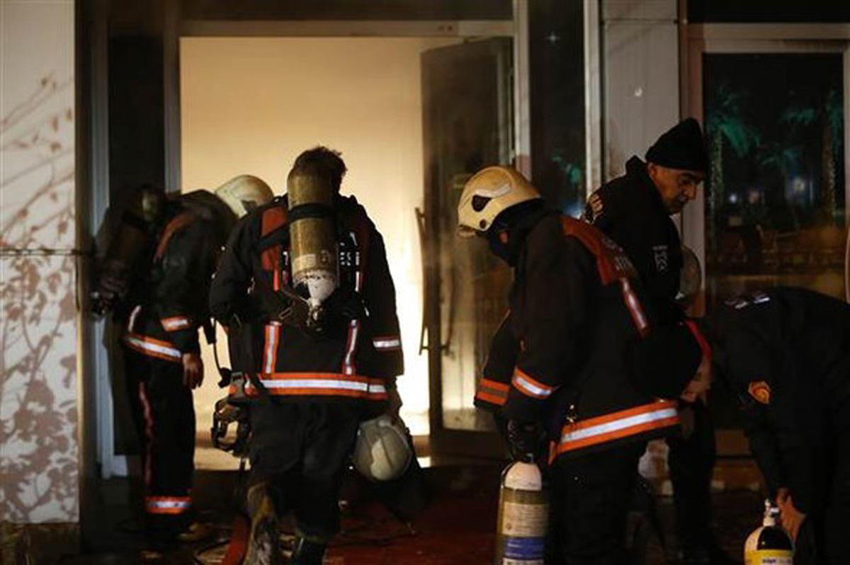 Ankara'da çıkan yangında 30 kişi etkilendi