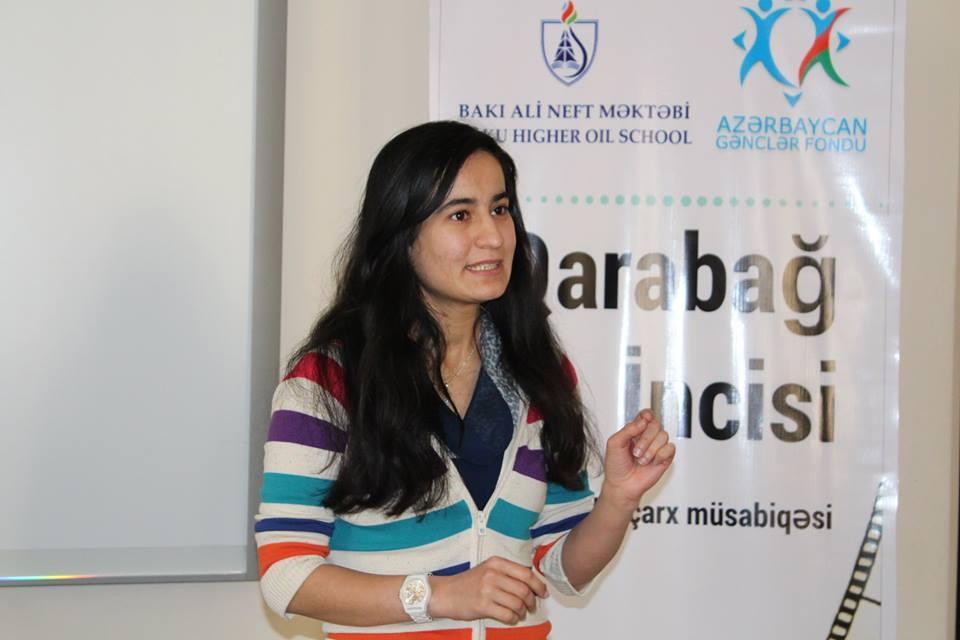 """BANM tələbəsinin """"Qarabağ İncisi"""" videoçarx müsabiqəsi başa çatıb (FOTO)"""