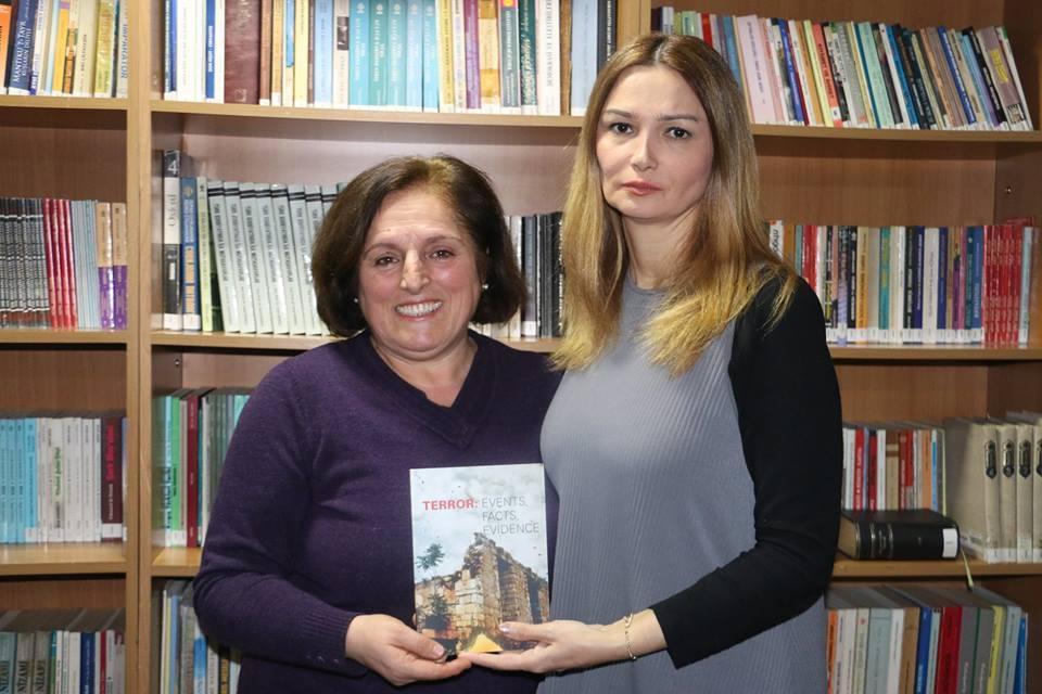 Qənirə Paşayeva Makedoniyada Ermənistanın işğalçılıq siyasəti ilə bağlı çağırış edib (FOTO)
