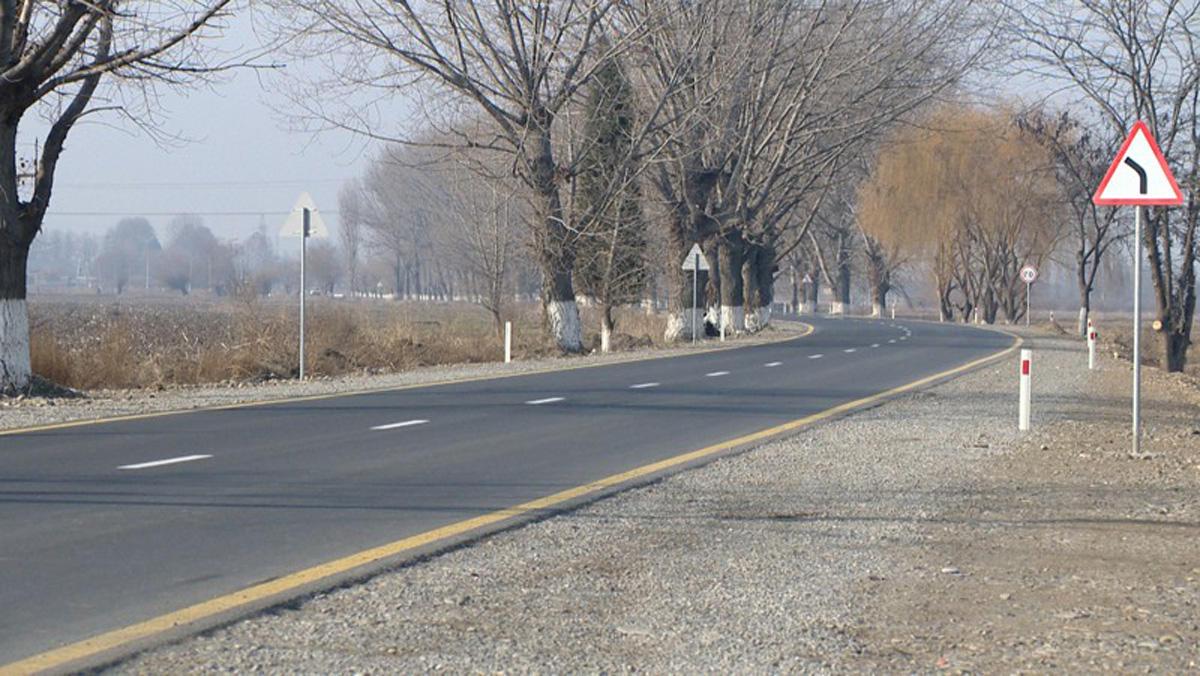 Gəncədə avtomobil yolunun tikintisi yekunlaşıb (VİDEO/FOTO)