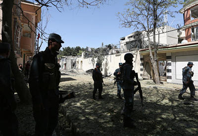 Explosions kill 2 at Afghan celebration, wound governor (UPDATED)
