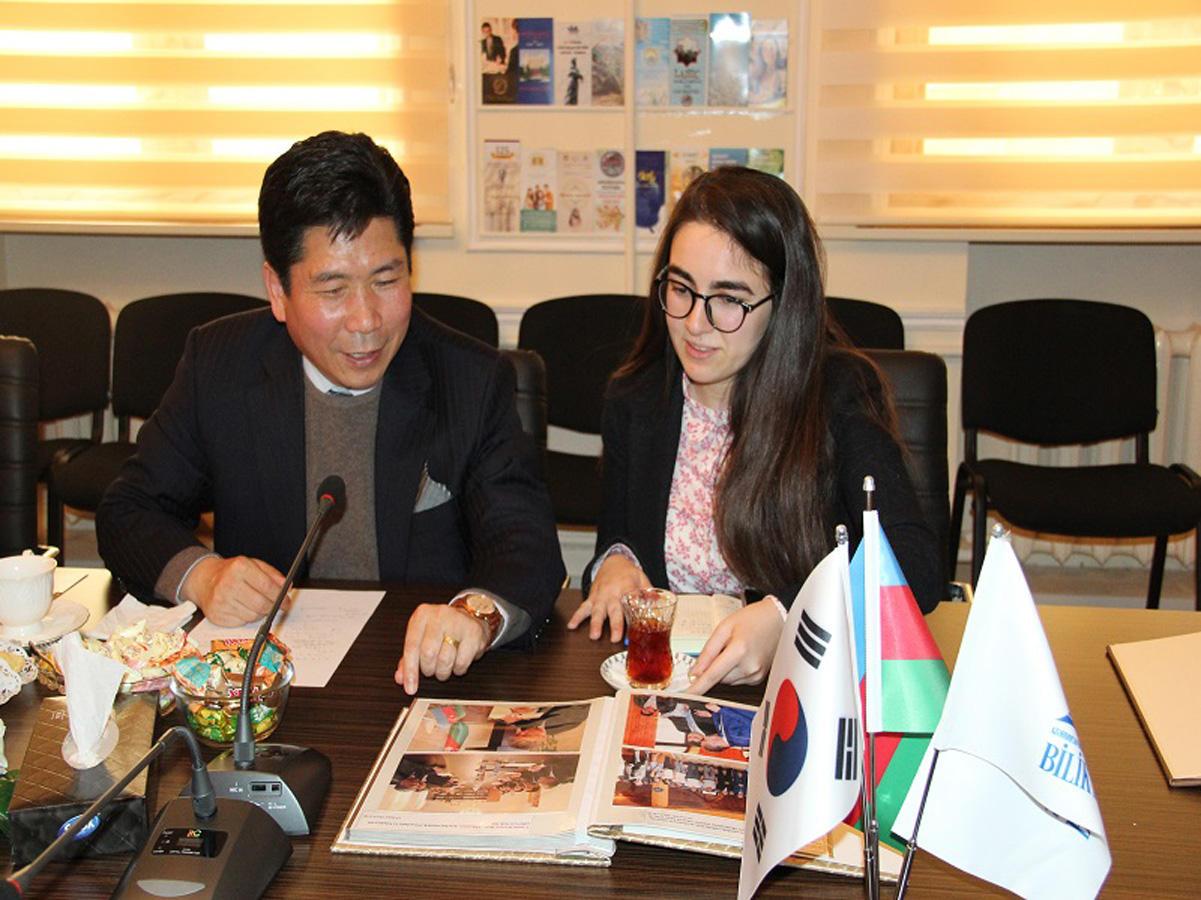 Bilik Fondu ilə Cənubi Koreya səfirliyi arasında əməkdaşlıq genişlənir (FOTO)