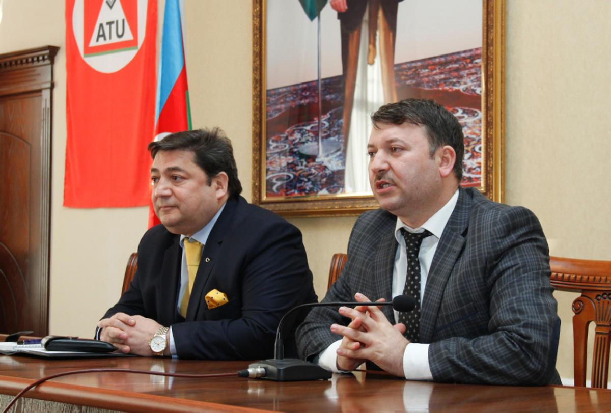 ATU ilə UNEC arasında əməkdaşlıq əlaqələri genişləndirilir  (FOTO)