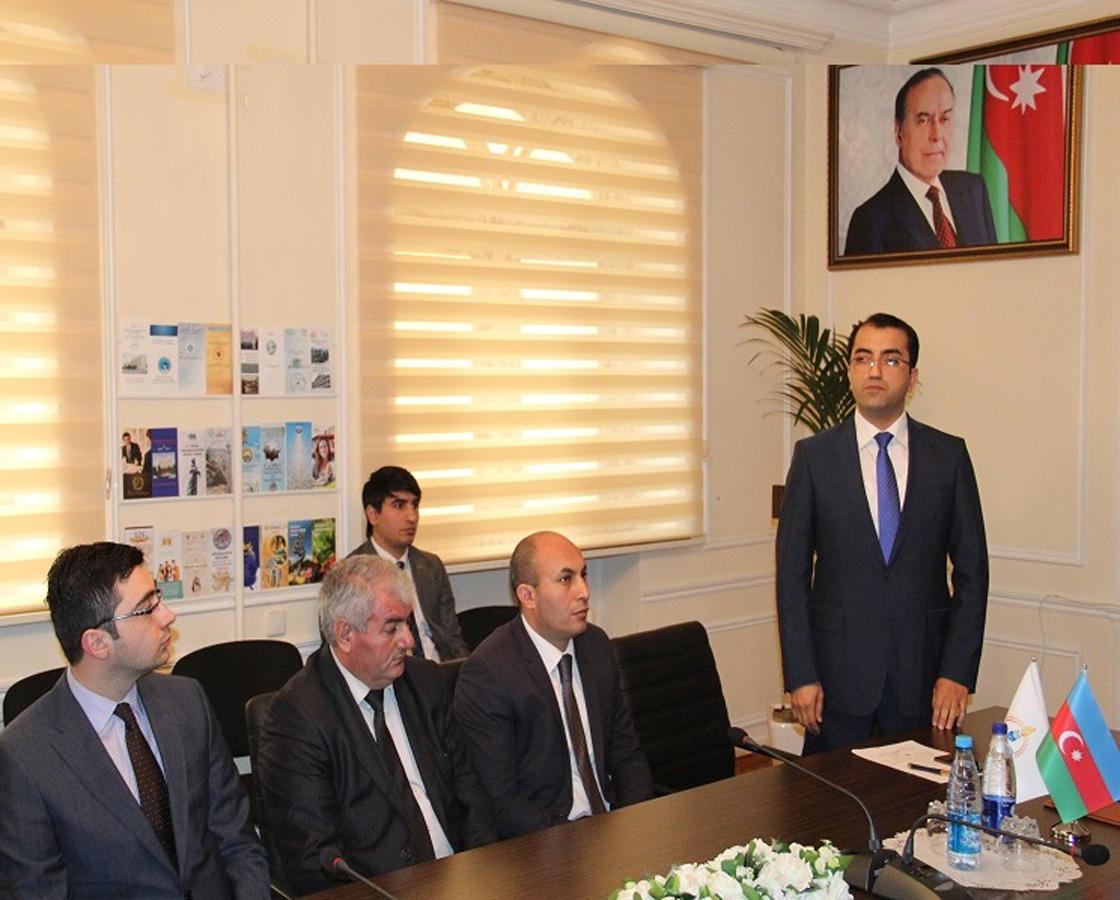 Bilik Fondu ilə nazirlik arasında memorandum imzalanıb (FOTO)
