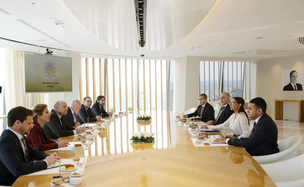 Azerbaijan's first lady meets French secretary of state (PHOTO)