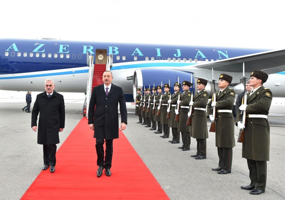 Ilham Aliyev visits Azerbaijan's Nakhchivan  (PHOTO)