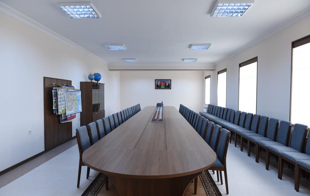 Ilham Aliyev opens renovated Russian school in Nakhchivan (PHOTO)