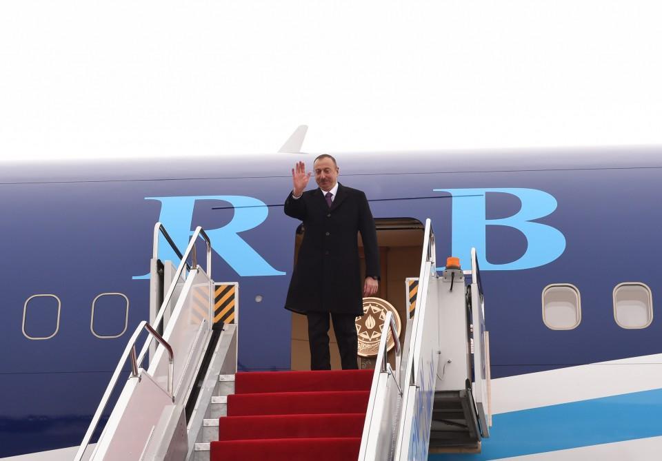 Prezident İlham Əliyevin Naxçıvan Muxtar Respublikasına səfəri başa çatıb (FOTO)